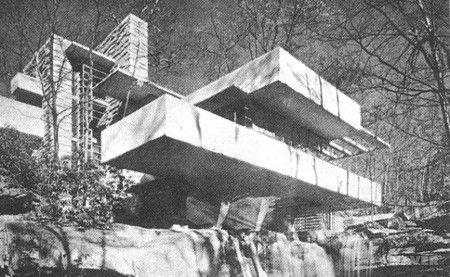 프랭크 로이드 라이트(Frank Lloyd Wright)는 작품활동을 활발하게 계속하였으며, 1930년 이후 유럽에서 합리주의자들의 건축적 레퍼터리가 확대되었을 때 새로운 에너지를 획득하게 되였다. 미국에서 독립적으로 근대건축 발전에 공헌한 라이트는 건축을 의식적으로 자연과 조화되고 공감할 수 있도록 설계하였으며 대지와...