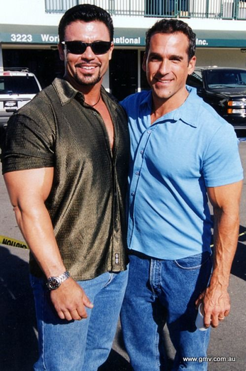 Rory Leidelmeyer And Bob Paris 2000 Bob Bodybuilding