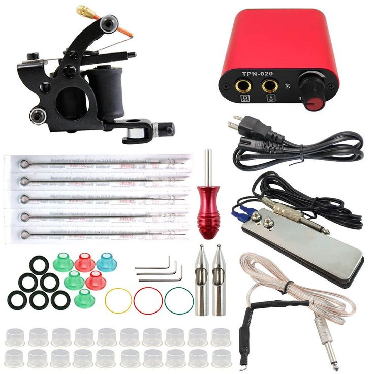 (33.05$)  Watch more here - http://aia0x.worlditems.win/all/product.php?id=32723411847 - ITATOO Complete Tattoo Kit Temporary Makeup Machine Sexy Kit Cheap Supply Kits Best Tattoo Machine Price Equipment TK108001-0