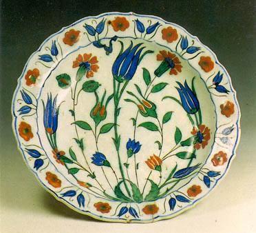 Polychrome Plate Iznik c. 1575-80