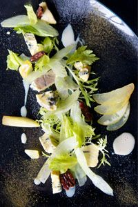 Vegetarian dish from Dave Watts, Cotswold House