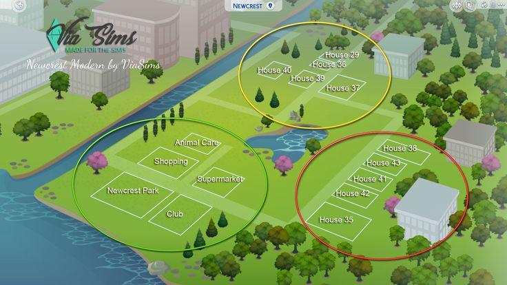 Construa Newcrest Moderno – The Sims 4   – Sims 4