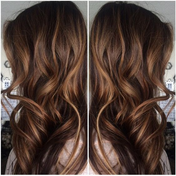 Caramel Highlights For Brown Hair Ecaille Hair Hair