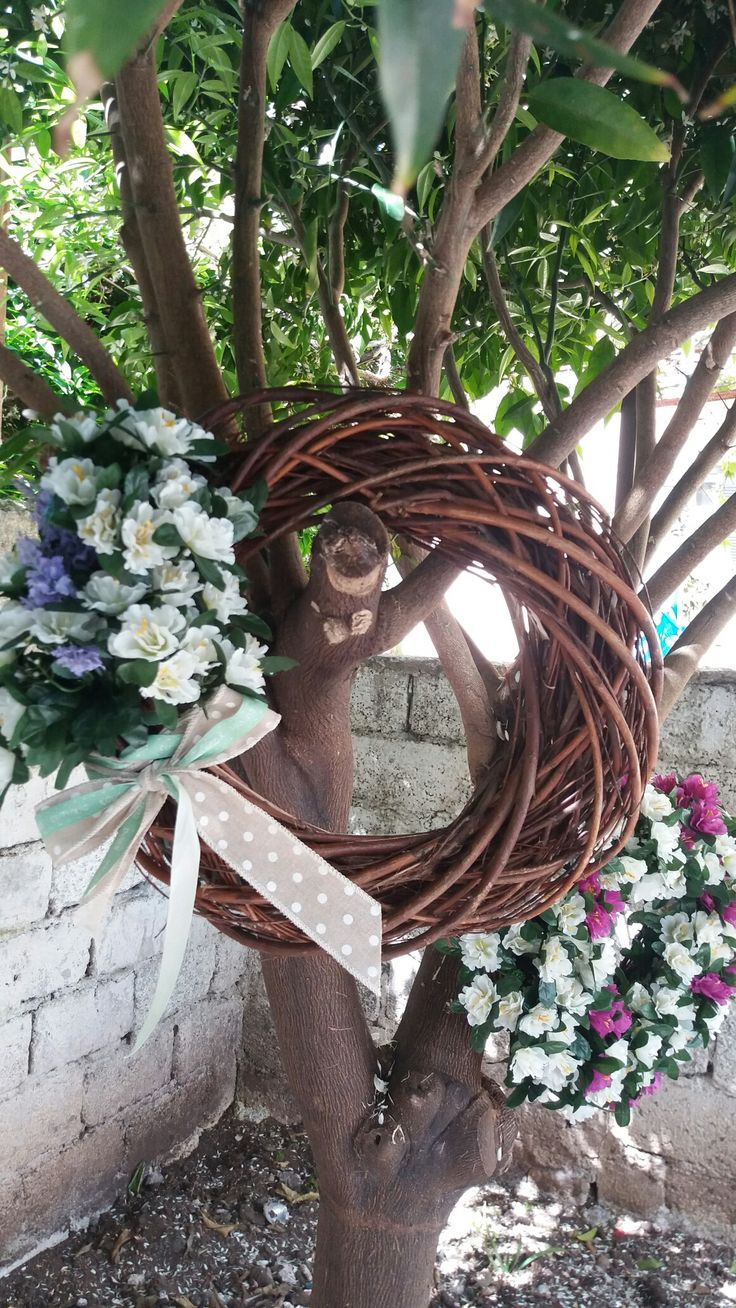 My spring wreath  :)