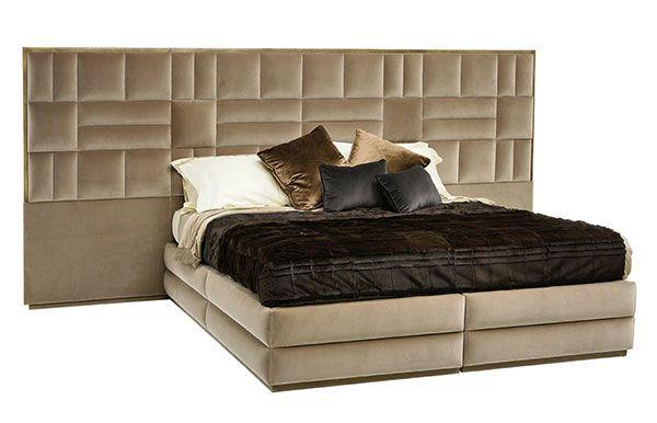 Caesar Train 360 us Standard King Size | Beds - Produzione di lusso made in Italy Classico e Moderno | Smania