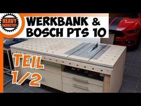 DIY - Bau Werkbank mit intergriertem Oberfräsentisch ...