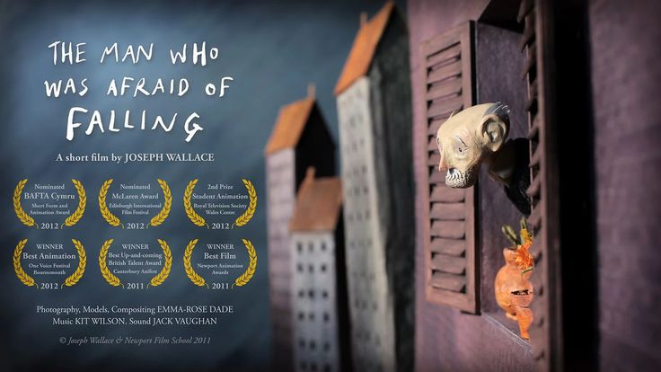 """Ivor's life is turned upside down after a falling plant pot sparks a series of paranoid reactions.""  Graduation film from Newport Film School.…"