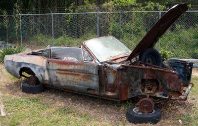 Image 1 of 11: 1966 Mustang Convertible Body & Parts