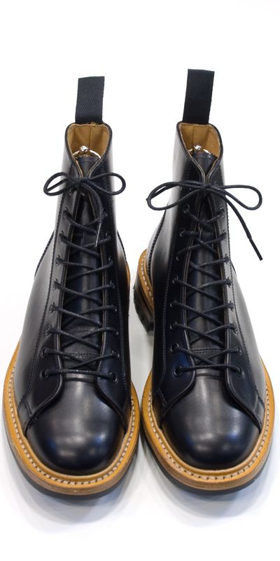 eton   Rakuten Global Market: Tricker's Monkey Boots Black Box Calf Commando Sole