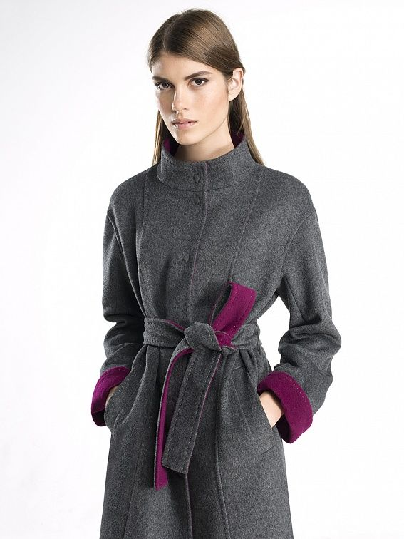 Купить пальто женское весна осень демисезонное в интернет магазине Pompa