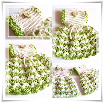 65 besten crocheted dresses potholders Bilder auf Pinterest ...