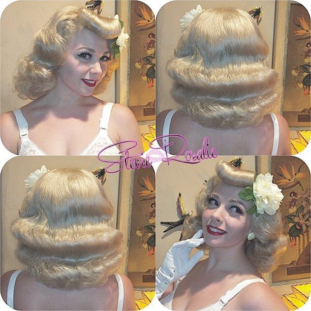 Is she a vintage barbie?! Hair was styled with Suavecita by @stevierosalie_. #Suavecitapomade #Suavecita #Pomade #Hair #Vintagehair #Pinuphair #Retro #Barbie #Vintage #Hairstylist #Stylist #Blonde #Suavecitabeauty #Beauty #Getitrucca!
