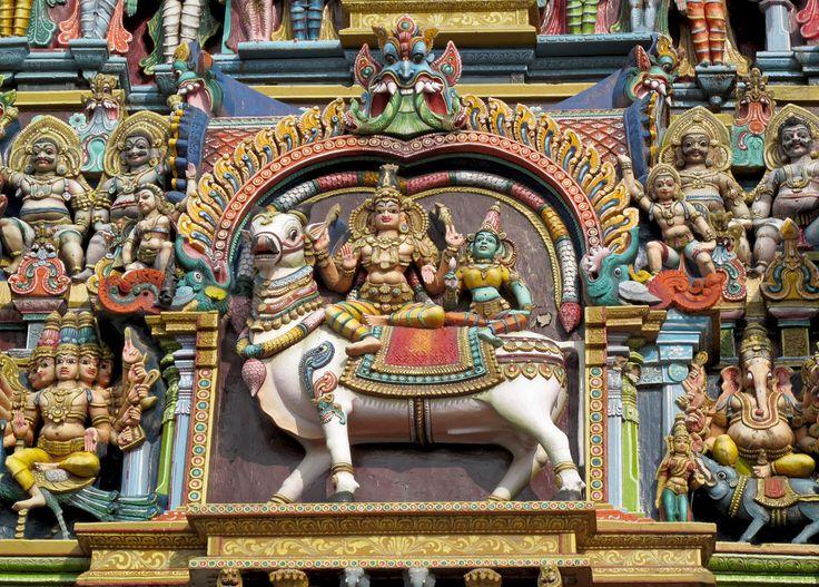 Temple detail, Sri Meenakshi, Madurai
