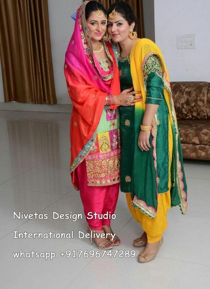104 Best Images About Punjabi Suits On Pinterest Color