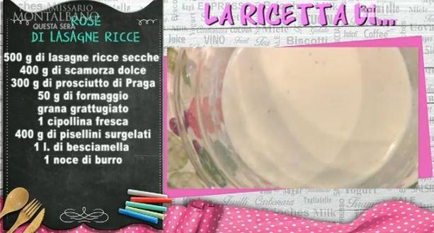 rose di lasagne