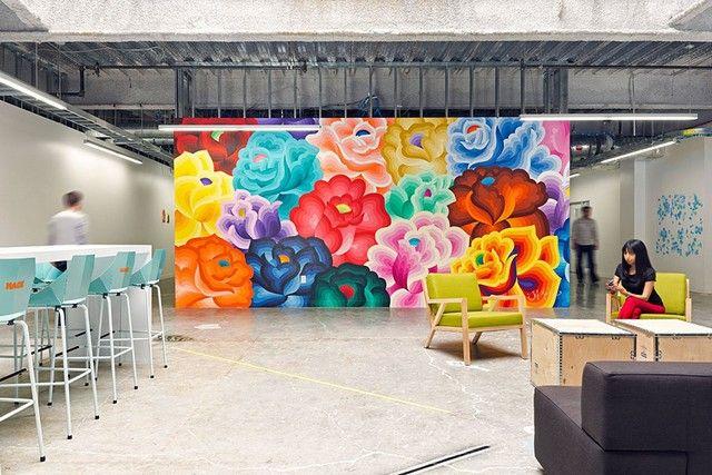 9 Riktigt coola kontor! #cool #office #officespace #officebuilding #modernoffice #kontor #google #facebook #microsoft #nokia #mojang