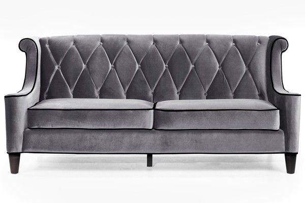 Tufted couch furniture pinterest for Sofa 0 interest