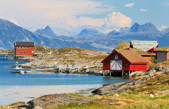 Rorbuer i Nord-Norge