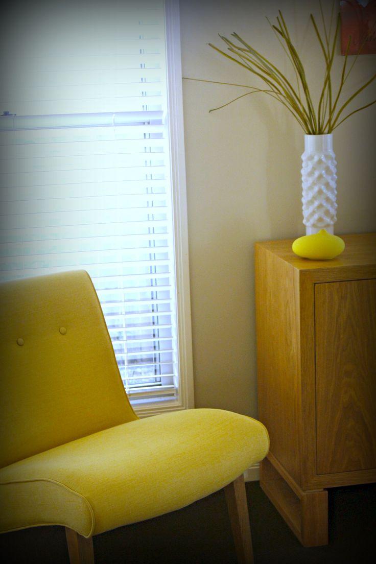 Occasional Citrus side chair www.studioldm.com.au