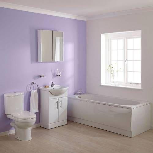 Hudson Reed WC mit Spülkasten, Waschtisch und Einbaubadewanne im Set - Ivo