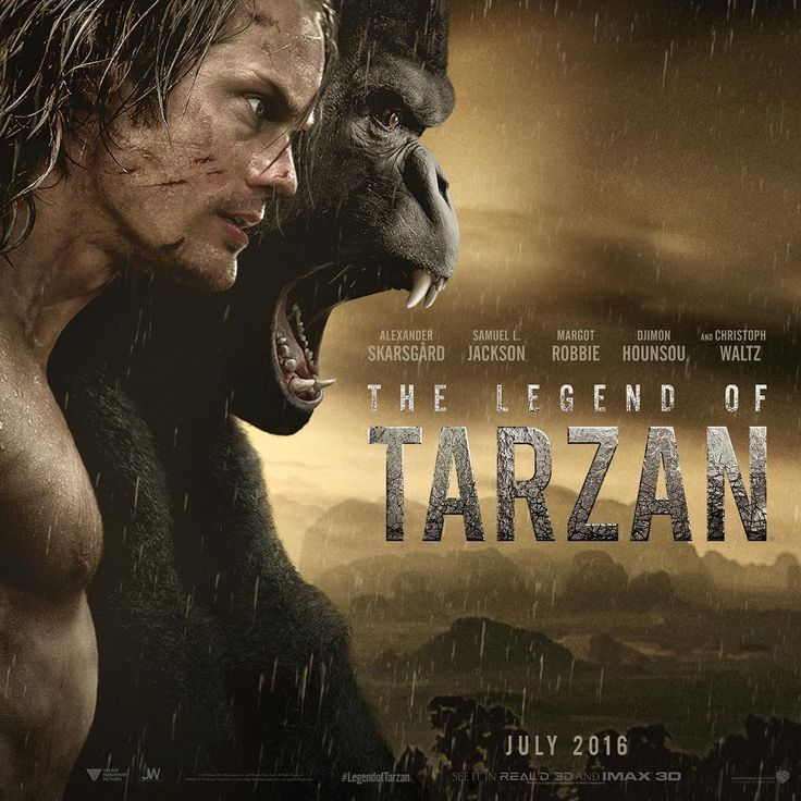 Poster for The Legend of Tarzan .: