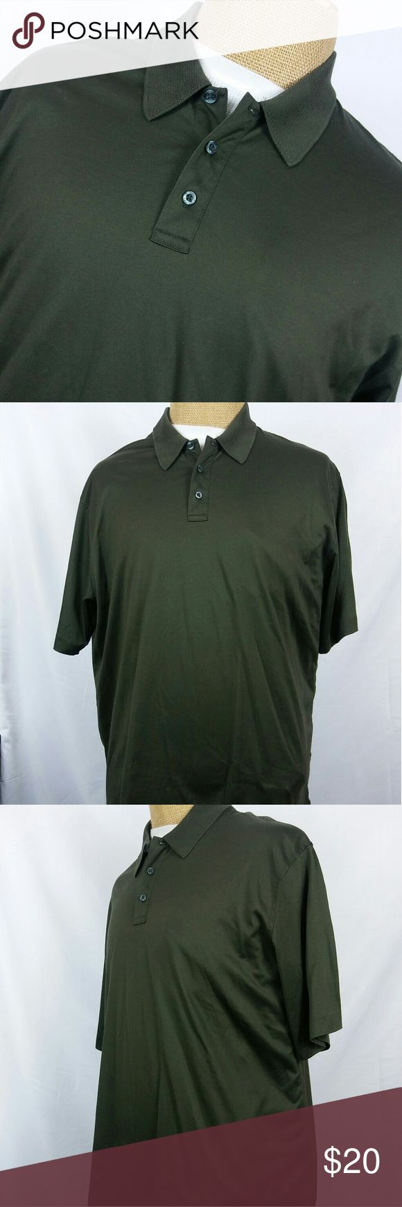 Brooks Brothers 346 Mens olive Green Polo Shirt Like new. No flaws Brooks Brothers Shirts Polos
