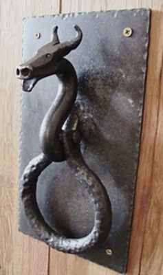 door knocker & 106 best Antique door knockers and doors images on Pinterest ... Pezcame.Com
