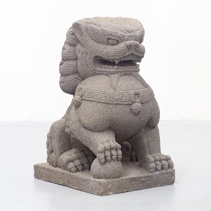 Tandu Lion. Stone Statue.