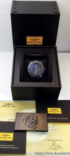 Breitling Avenger Blackbird Automatic Chronometer Titanium Watch Box Papers in Jewelry u0026 Watches Watches Parts u0026 Accessories Wristwatches & 304 best Breitling images on Pinterest | Breitling Watches and ... Aboutintivar.Com