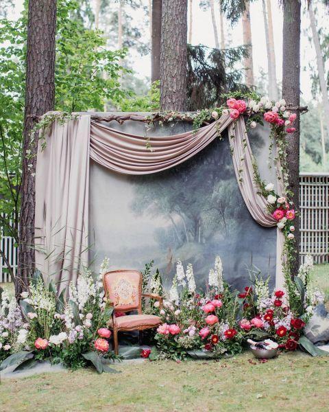 Un photocall pour votre mariage : les fonds les plus canons ! Image: 17