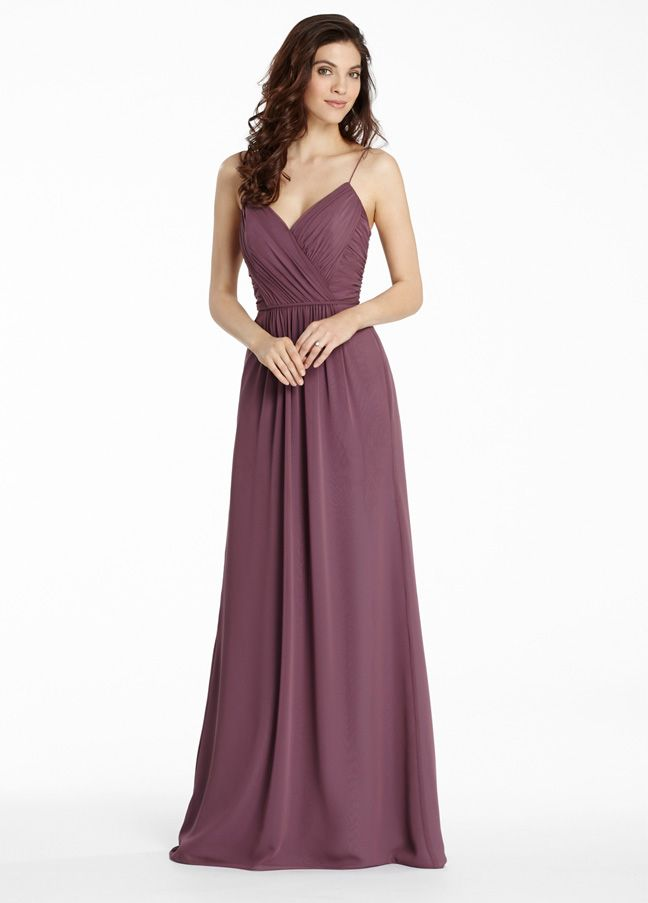 Jim Hjelm Bridesmaid Dress 5563 In Chiffon At Weddington Way Find The Perfect Made To Order Dresses For Your Bridal Party You