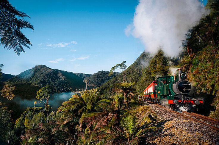 Tasmania. Must-Do #5 West Coast Wilderness Railway The whistle is blowing. The steam is puffing. The clock has struck the hour. A cheery conductor leans out the side of a carriage and scans the platform for any stragglers. No, this isn't the establishing scene of a 1920s English murder mystery—it's present-day Queenstown Station. All aboard the West Coast Wilderness Railway!