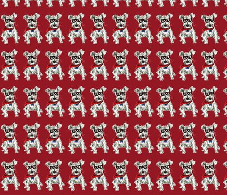 Smart Dog fabric by dkmag on Spoonflower - custom fabric
