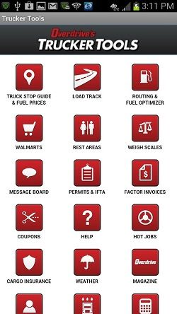 free apps for truck drivers