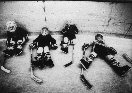 Pee wee hockey brawls