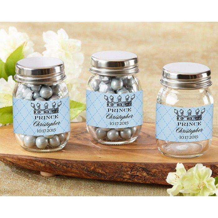 Little Prince Personalized Mini Mason Jar (Set of 12)