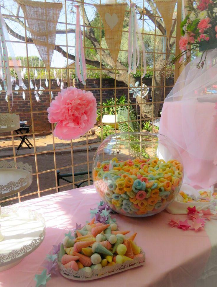 Mianey 1st Birthday #diyparty #tutu #vinyl #silhouette #1stbirthday #kidsparty #springideas #candyfloss