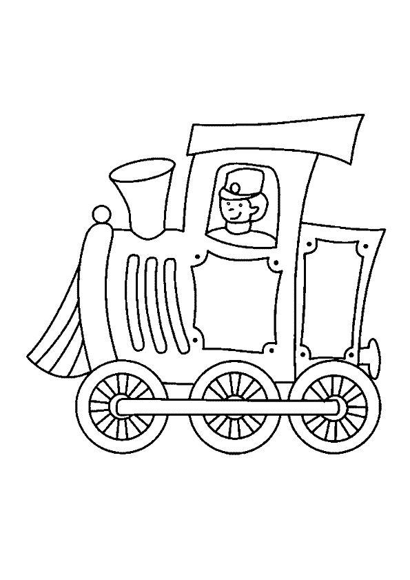 57 best images about coloriages de trains on pinterest - Train coloriage ...