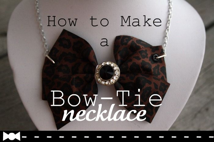 How to Make a Bow-Tie Necklace: Bow Ties, Bow Tie Necklace, Bling Bling Making, Craft Projects, Jewelry, Costume Someday, Craft Ideas, Diy