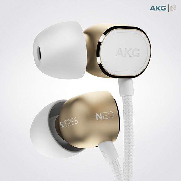AKG N20 / In-Ear Headphones on Behance