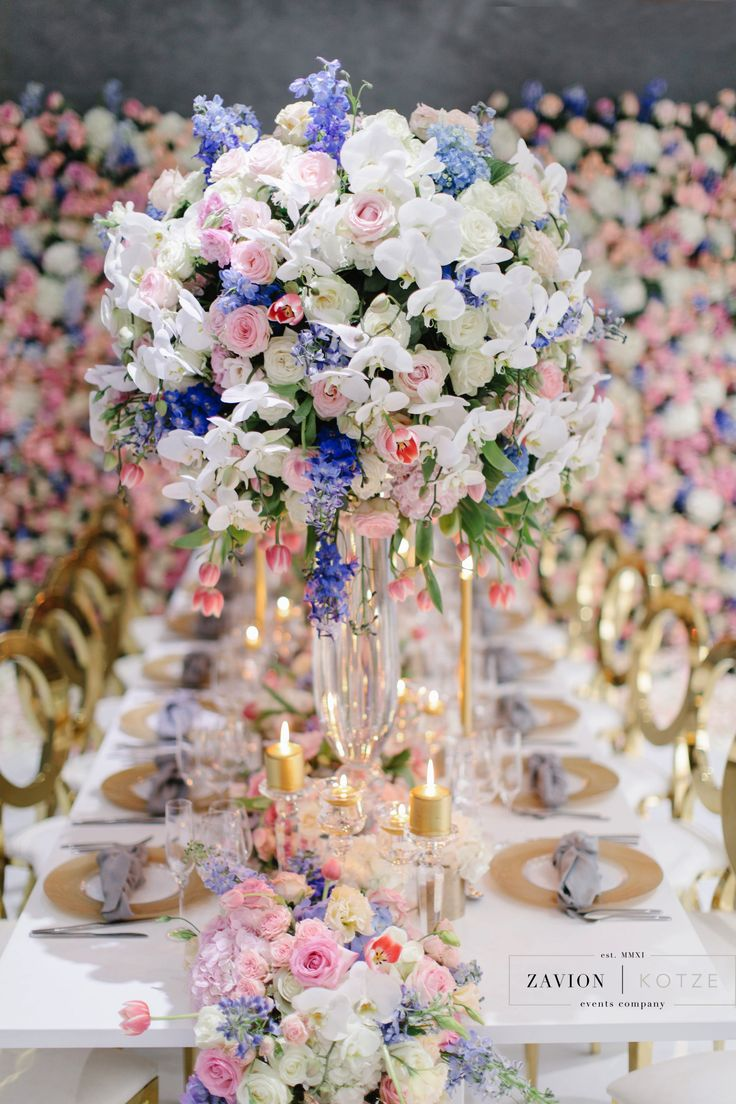 Luxury pastel flowers, gold, white, flower wall