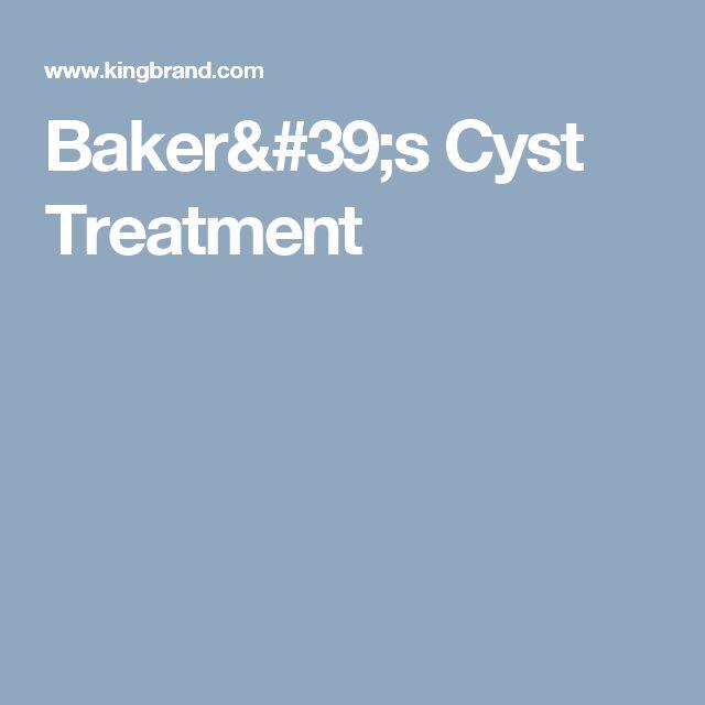 Baker's Cyst Treatment