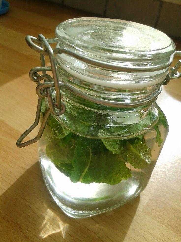 Uit mijn keukentje: Munt-extract- zie ook http://nl.wikihow.com/Muntextract-maken