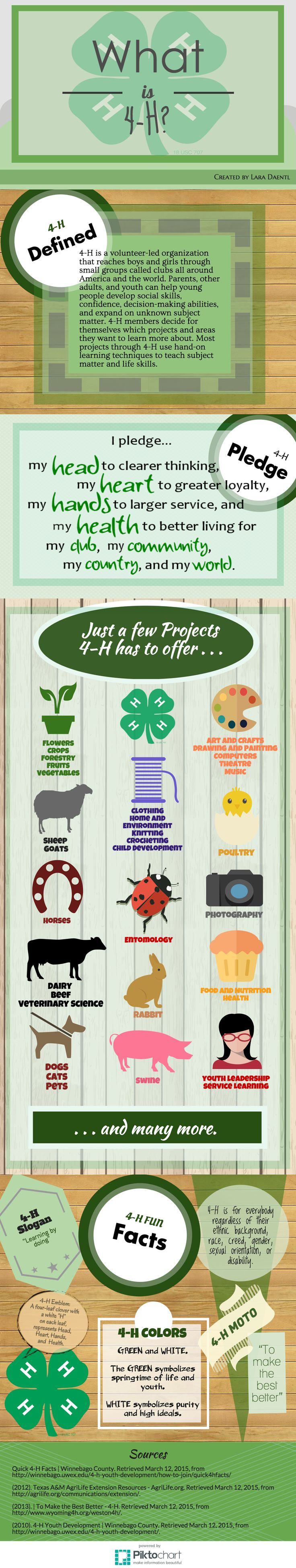 What is 4-H? Answers some great questions you may have!
