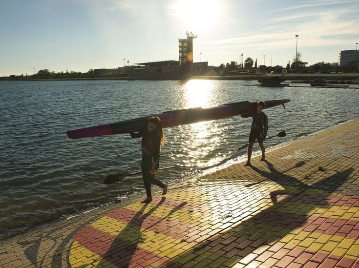 Catalonia Olympic Canal -The Institut Català de Sòl (Catalan Land Institute, INCASOL) built this canal to celebrate the canoeing events at the Barcelona Olympic Games of 1992. It is found in the municipal area of Castelldefels, some 15 km from the Catalan capital #BCNmoltmes #sports #canoeing #castelldefels #olympics #catalonia