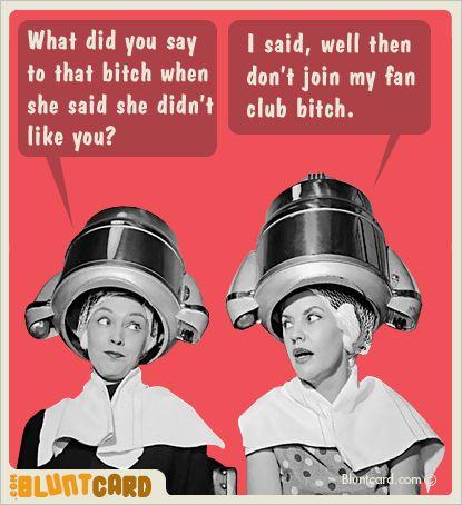 Blunt cards...  Hilarious!  :)