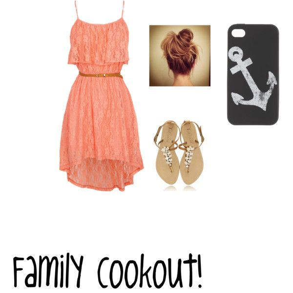 """family cookout"" by bayleapottorff on Polyvore"