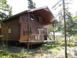 Little Atlin Lodge on Little Atlin Lake, Yukon, Canada