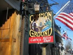 Common Ground Cafe, Hyannis, MA  Fabulous!! --  will have to go!