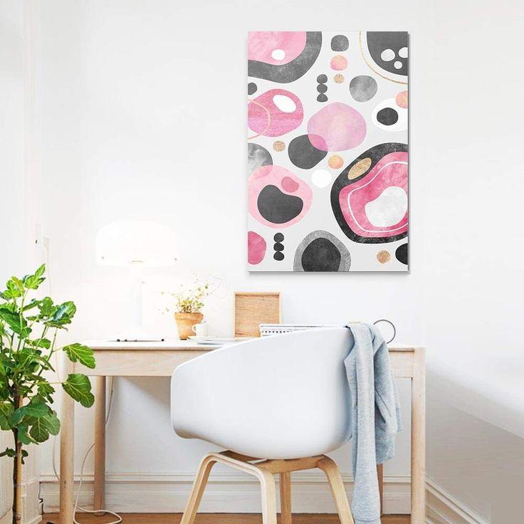 """""""Graphic Play"""". Tableau Design Numéroté by @efredriksso1458 - A partir de 29 € - www.chall.fr - #decorationinterieur #Artprint #inspiration #idéedeco #geometrique"""